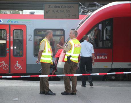 Bahnhof4 Gewalttat am Bahnhof Siegen – Frau durch Messerstiche  tödlich verletzt