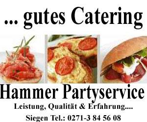 Lecker Essen auf ihrer Party - Hammer Partyservice Siegent