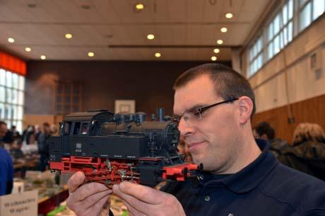 Modellbahn14 Über 500 Besucher kamen zur Modellbahnbörse