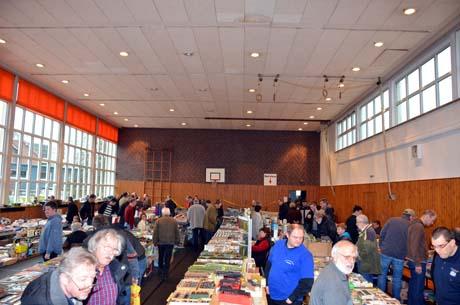 Modellbahn20 Über 500 Besucher kamen zur Modellbahnbörse
