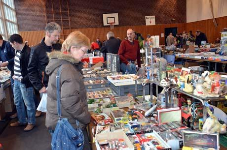 Modellbahn22 Über 500 Besucher kamen zur Modellbahnbörse