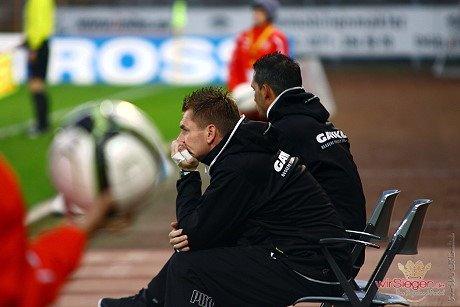 Gegen Wiedenbrück nimmt Michael Boris wieder auf dem Trainerstuhl Platz und hat sein Team auf die Aufgabe vorbereitet.