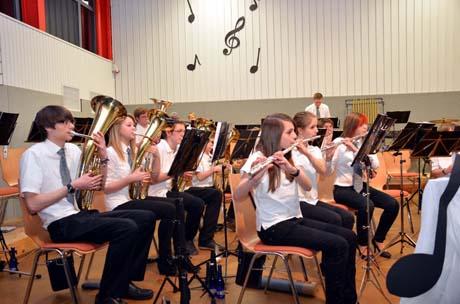 Musikverein Salchendorf 6 Seltene Auszeichnung für Rüdiger Bröhl. Dirigent mit Goldener Nadel ausgezeichnet.
