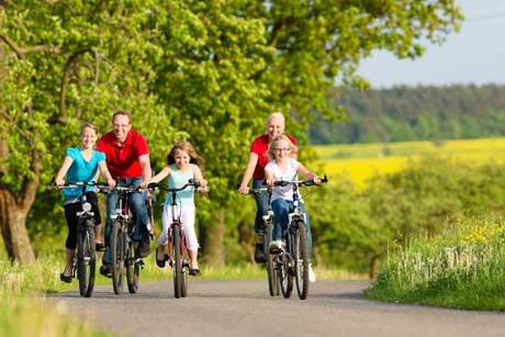 20130417 PM Anradeln in Bur Anradeln rund um Burbach   Fahrradtour über die Dörfer