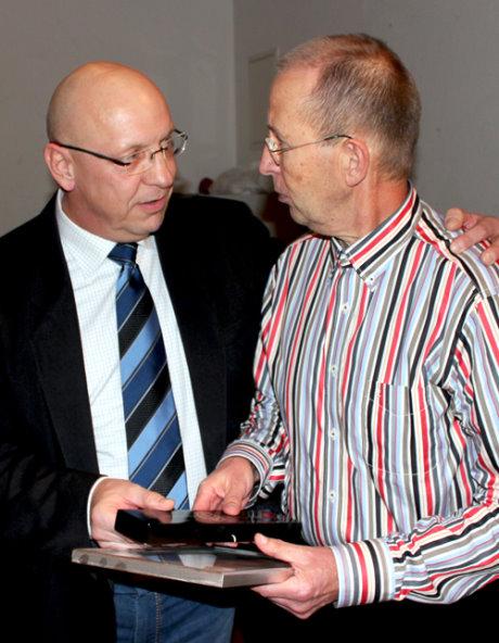 Der stellvertretende KSA-Vorsitzende Andreas Fürstenau nahm die Ehrungen vor.
