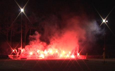 Die Fans von Sportfreunde Siegen sendeten ein starkes Signal an Politik und Wirtschaft.