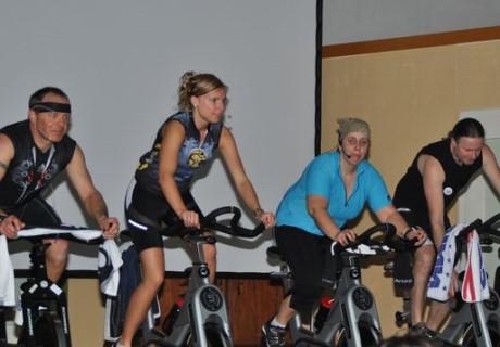 Der Indoor-Cycling Spendenmarathon in Neunkirchen-Salchendorf geht in die vierte Runde. Foto: Veranstalter