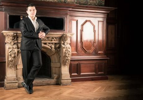 Francois Xavier Poizat gibt ein Chopin-Konzert in Siegen. Foto: Martin Teschner/Apollo