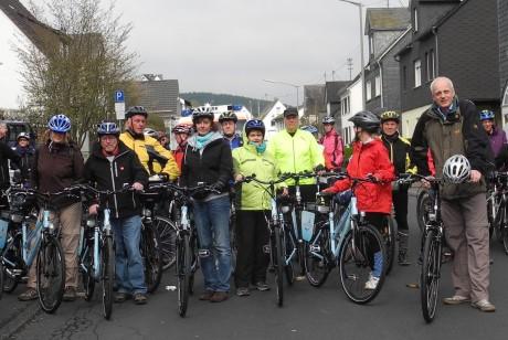 """In Burbach wird die Fahrradsaison am 27. April beim """"Anradeln"""" eröffnet. Foto: Gemeinde"""
