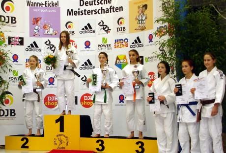 Siegerehrung bei der Deutschen Meisterschaft in Herne. Foto: Verein