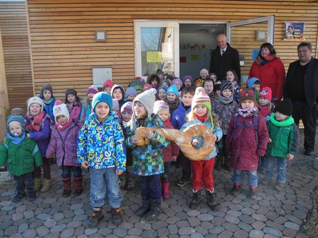 Eingang Kindergarten Wahlbach
