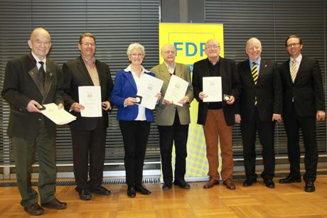FDP-Ehrungen