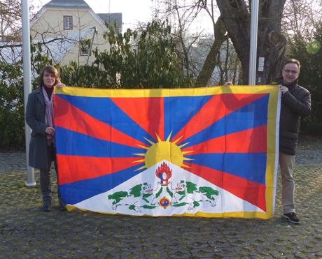 TibetflaggeHilchenbach