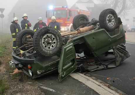 Geländewagen Unfall Lippe (3)