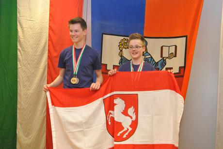 Landesmeister Marvin Vogel und Niklas Wörster (1)