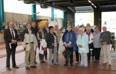 Die Besucher der Seniorenhilfe Siegen informierten sich über die Arbeit der VWS. Foto: VWS