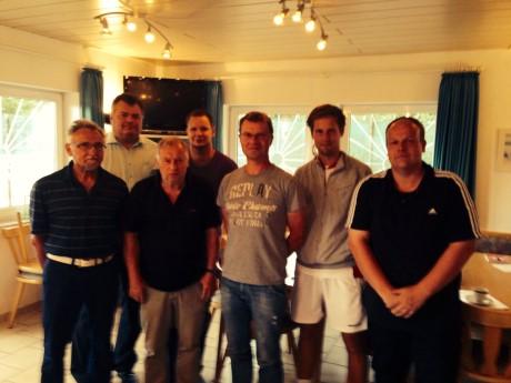 Die Turnierleitung des Südwesfalencups 2014. Foto: Verein