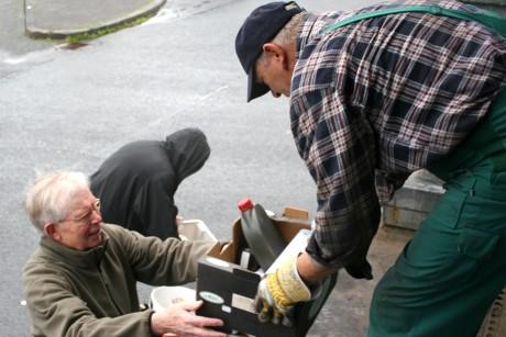Die mobile Schadstoffsammlung kommt gut an in Wilnsdorf. Foto: Gemeinde