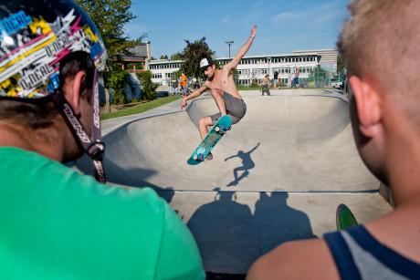 4. Juli 2014 Einweihung der Bowl auf dem Freizeitgelände Stählerwiese in Kreuztal/Siegen