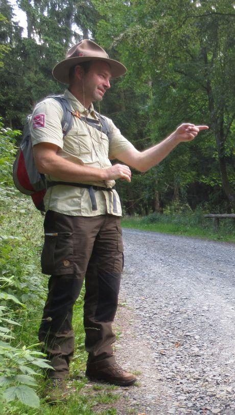 Matthias Speck, Ranger des Landesbetriebes Wald und Holz. (Archivbild: Stadt)