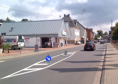 2014-08-28_Verkehrssituation in Neunkirchens Zentrum_Foto_Gemeinde_Neunkirchen