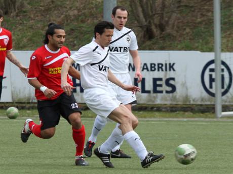 Jochen Trilling (vorne) in seiner aktiven Zeit beim 1. FC Kaan-Marienborn. Foto: Verein