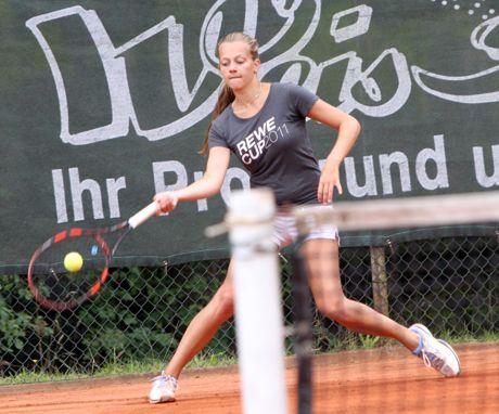 Feline Müller (TuS AdH Weidenau) gewann die U21 A-Nebenrunde