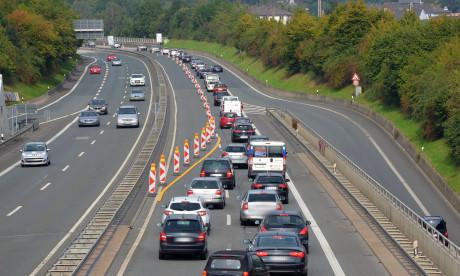 Das Verkehrschaos auf der HTS hat massive Auswirkungen - nicht nur für Berufspendler, sondern auch für den ÖPNV in Siegen. Archiv-Foto: wirSiegen