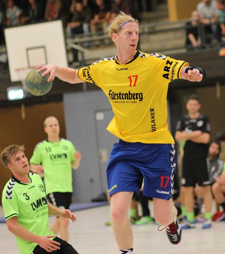 Bester Torschütze: Frieder Krause erzielte 10 Treffer im Spiel gegen Höchsten.