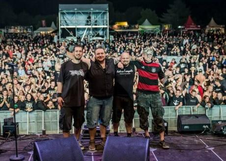 Beim G.O.N.D. spielten die vier Musiker dreimal vor jeweils rund 15.000 Menschen.