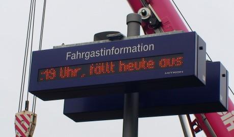 Die RB 93 fällt zwischen Ferndorf und Hilchenbach aus. Es fährt ein Busnotverkehr.