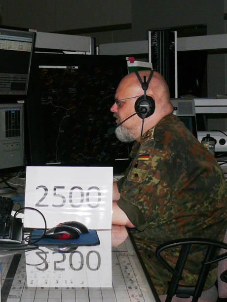 2500ter Abfangeinsatz für Hauptmann Sven Kristophson, einen der erfahrensten Jägerleitoffiziere der Luftwaffe.