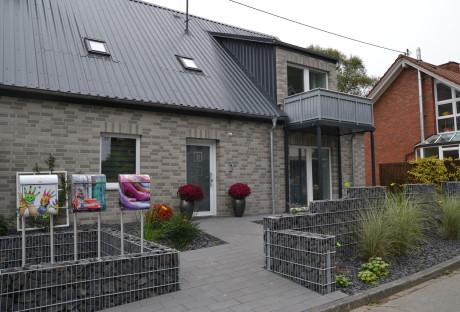 Von außen sieht man es dem Haus nicht an, doch es verbirgt sich jede Menge Technik hinter den Fassaden. Fotos (2): Stadt