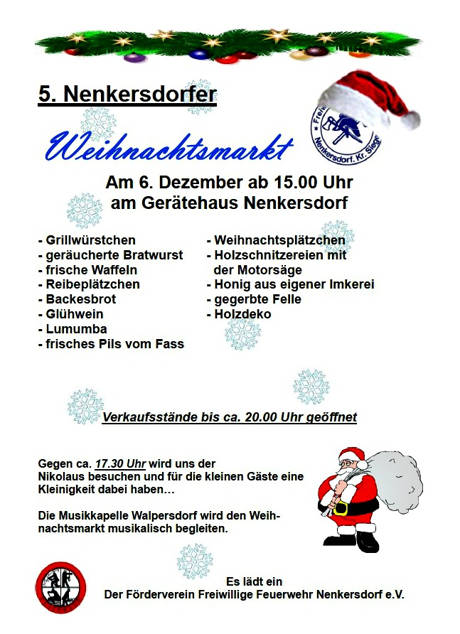 2014-11-26_Nenkersdorf_Weihnachtsmarkt_Foto_Foerderverein_Feuerwehr