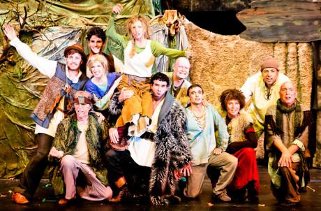 Das Ronja-Ensemble. Foto: René Achenbach/Theater