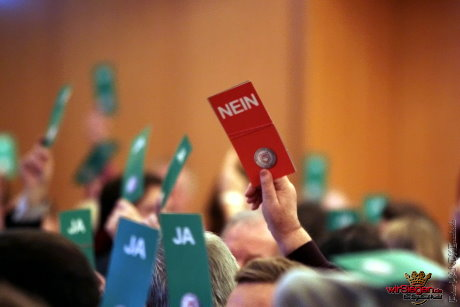 Trotz Gegenstimmen: Der Sportfreunde-Vorstand wurde entlastet und die Versammlung lief ohne Besonderheiten ab. Fotos: Michael Handke