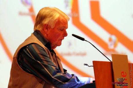 Mit klaren Worten zu Beginn leitete Ältestenrats-Vorsitzender Peter Drössler die Mitgliederversammlung ein.