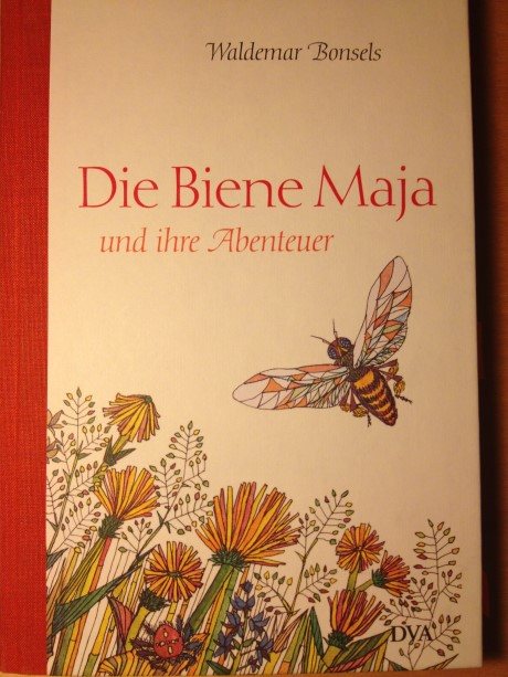Die Biene Maja und ihre Abenteuer von Waldemar Bonsels in der Jubiläumsausgabe der Auflage von 1926. Foto: J. Aspelmeier