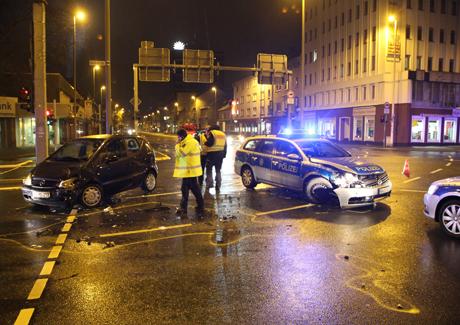 UnfallPolizeiauto