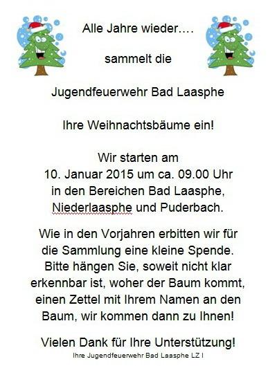 2015-01-03_Bad_Laasphe_Jugendfeuerwehr_Weihnachtsbäume_einsammeln