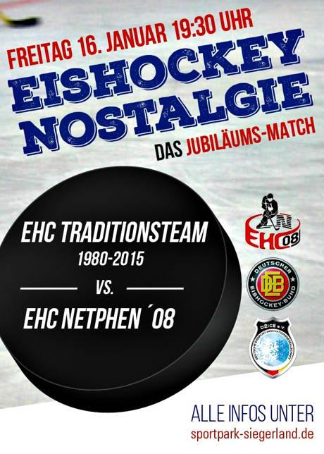 2015-01-08_Eishockey-Nostalgie_Plakat_EHC-Netphen