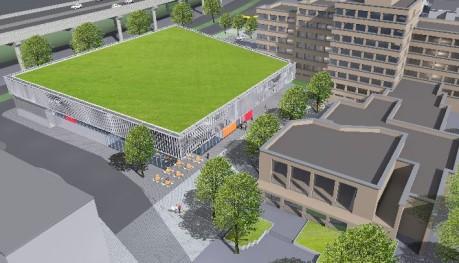 So könnte das Geisweider Zentrum in Zukunft aussehen. Foto: Stadt