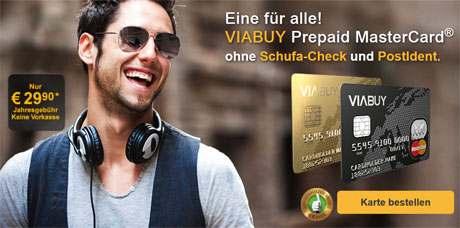 Viabuy-Kreditkarte