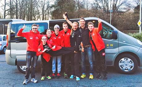 alle sechs mitgereisten Athleten des Perspektivkaders vom EJOT Team TV Buschhütten sehr gute Ergebnisse erzielen