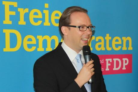 Kunz kritisierte den neuen Landrat, der noch keinen eigenständigen Stil und eigene Mehrheiten gefunden habe. (Foto: P.Hanke)