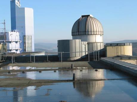 Die Sternwarte an der Siegener Uni. (Foto: Uni)