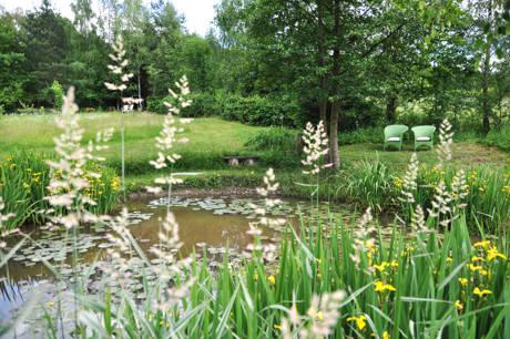 ...und ein Garten im Wilnsdorfer Ortsteil Gernsdorf.