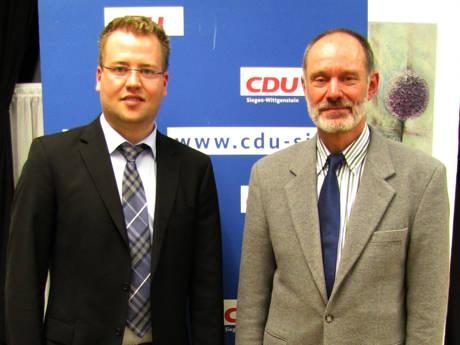 Der CDU Vorsitzende Benedikt Büdenbender