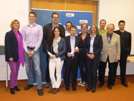 Der neu gewählte Kreuztaler CDU Stadtverbandsvorstand (Foto: privat)