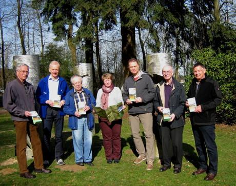 v.l.n.r.: Wilfried Neudeck (SGV Fellinghausen), Helmut Fick (SGV Krombach), Günter Poser (SGV Littfeld), Doris Schumacher (SGV Littfeld), Michael Häusig (Stadt Kreuztal), Eckhardt Dippel (SGV Ferndorf-Kreuztal), Lother Schneider (SGV Buschhütten)
